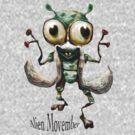 Alien Movember by Tom Godfrey