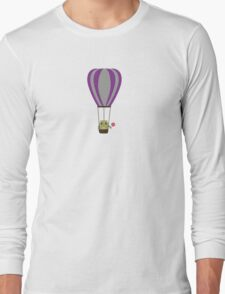 Owl in hot-air balloon with a lollipop T-Shirt