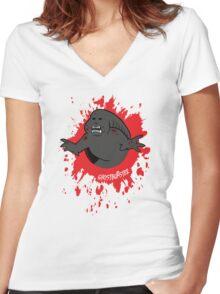 Ghostburster Women's Fitted V-Neck T-Shirt