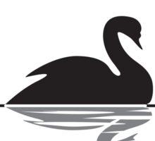 Swanbucks Coffee Sticker