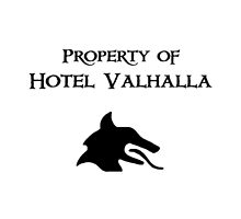 Property of Hotel Valhalla  by berrymuffin