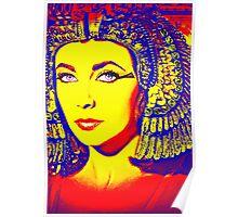 Elizabeth Taylor in Cleopatra Poster