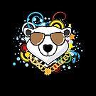 Funny Hip-Hop Polar Bear by thejoyker1986