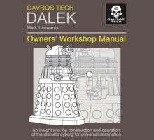 Dalek Manual by gofreshfeelgood