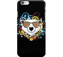 Funny Hip-Hop Polar Bear iPhone Case/Skin