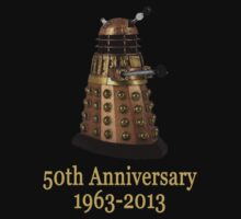 Golden Dalek - 50th Anniversary by Marjuned