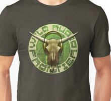 Wild Audio Frontier Headphone MP3 Cattle Skull Graphic Unisex T-Shirt