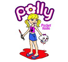 Polly Pocket Knife Photographic Print