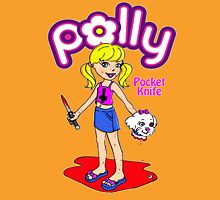 Polly Pocket Knife Womens Fitted T-Shirt