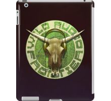 Wild Audio Frontier Headphone MP3 Cattle Skull Graphic iPad Case/Skin