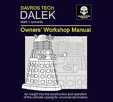 Dalek Workshop Manual - IPAD by gofreshfeelgood