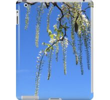 White Wisteria iPad Case/Skin
