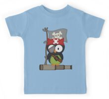 Captain Owl .. tee shirt Kids Tee