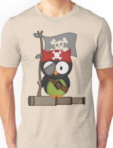 Captain Owl .. tee shirt Unisex T-Shirt