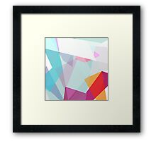 missing colourful times Framed Print