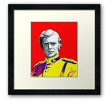 Michael Caine in Zulu Framed Print