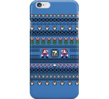 Super Mario Sweater iPhone Case/Skin