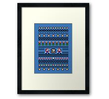 Super Mario Sweater Framed Print
