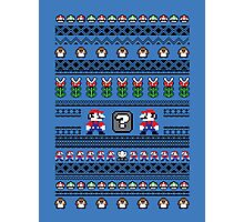 Super Mario Sweater Photographic Print
