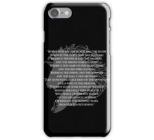 Where now are the horse and the rider iPhone Case/Skin
