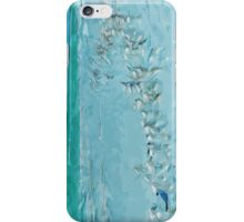 Terns and Gulls on the Beach Abstract Impressionism iPhone Case/Skin