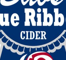 Babs Blue Ribbon Beer Sticker