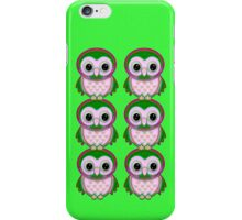 Vibrant Owls .. iPhone case iPhone Case/Skin