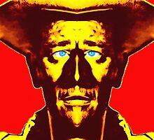 John Wayne, alias in Fort Apache by Art Cinema Gallery