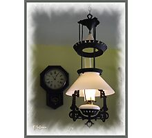 Lamp of 1910 Photographic Print
