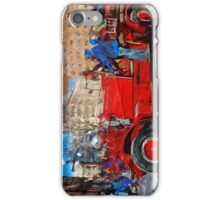 Carnival Parade antique Fire Engine Abstract Impressionism iPhone Case/Skin