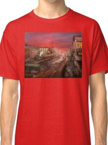City - NY - Rush hour traffic - 1900 Classic T-Shirt