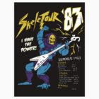 Skeletour '83 - sticker by TedDastickJr