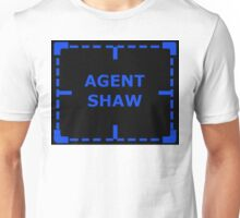 Agent Shaw as an Asset sticker alternative Unisex T-Shirt