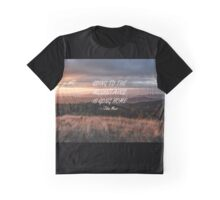 Going to the mountains 6 Graphic T-Shirt