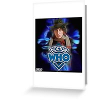 Doctor Who 50th Anniversary - Fourth Doctor Greeting Card