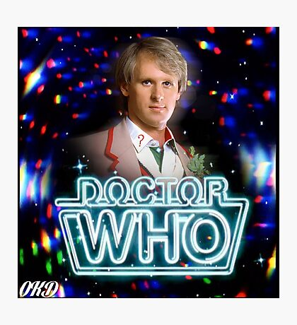 Doctor Who 50th Anniversary - Fifth Doctor Photographic Print