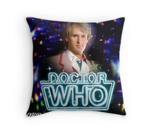 Doctor Who 50th Anniversary - Fifth Doctor Throw Pillow