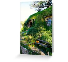 Bag End - Hobbiton, New Zealand Greeting Card