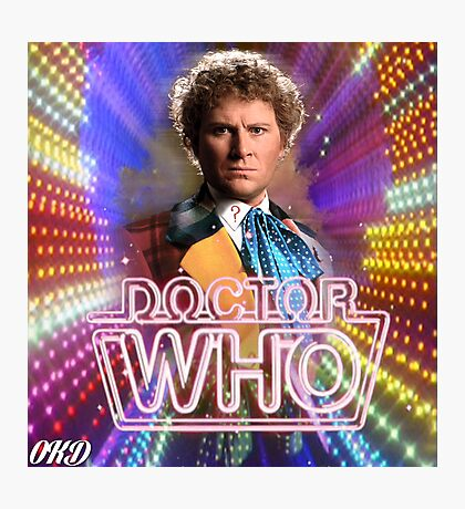Doctor Who 50th Anniversary - Sixth Doctor Photographic Print