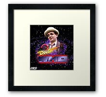Doctor Who 50th Anniversary - Seventh Doctor Framed Print