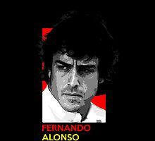 Fernando Alonso - national flag colors by TheGearbox