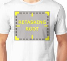 Retasking Root sticker alternative Unisex T-Shirt