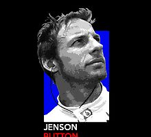 Jenson Button - national flag colors by TheGearbox