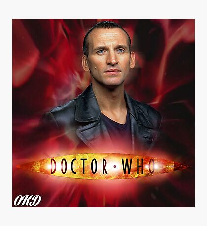 Doctor Who 50th Anniversary - Ninth Doctor Photographic Print