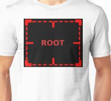 Root Problem sticker alternative Unisex T-Shirt