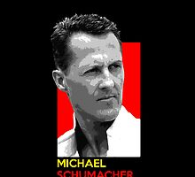 Michael Schumacher - national flag colors by TheGearbox
