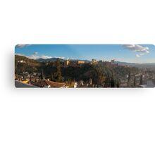 Alhambra in Granada, Spain Metal Print