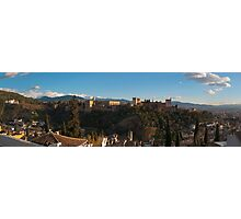Alhambra in Granada, Spain Photographic Print