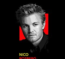 Nico Rosberg - national flag colors by TheGearbox