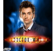 Doctor Who 50th Anniversary - Tenth Doctor Photographic Print